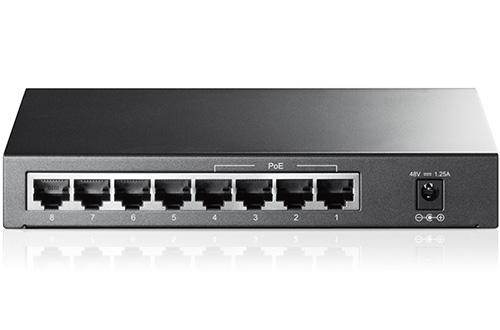 TP-LINK TL-SG1008P 4+4 portos PoE Gigabit switch